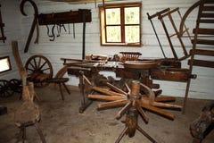 Carpenter's workshop Stock Photo