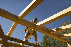 Carpenter sands central beam Stock Photos
