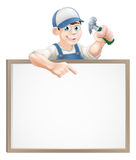 Carpenter sign Stock Images