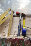 Carpenter tool Stock Image