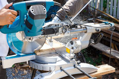 Carpenter tool. Royalty Free Stock Photo