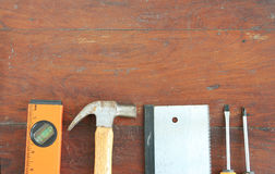 Carpenter tool Royalty Free Stock Images