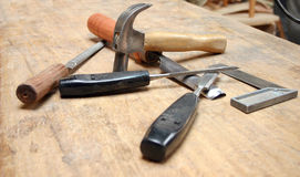 Carpenter tools 1 Royalty Free Stock Photography
