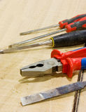 Carpenter tools Stock Image