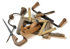 Free Carpenter Tools Royalty Free Stock Photo - 13574565