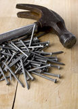 Carpenter tools Stock Photo