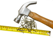 Carpenter Tools Royalty Free Stock Photo