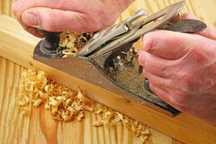 Carpenter tools Royalty Free Stock Images