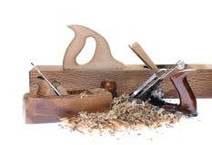 Carpenter tools. Royalty Free Stock Image