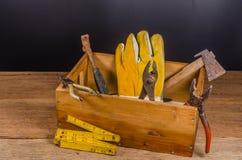 Carpenter tools Royalty Free Stock Image