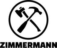 Carpenter Tools vector Royalty Free Stock Image