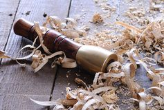 Carpenter tools. Royalty Free Stock Photos