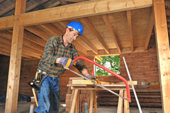 Carpenter two Stock Photos