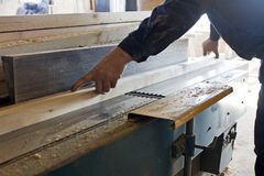 Carpenter work Stock Photos