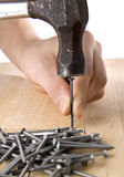 Carpenter work Royalty Free Stock Images