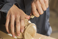 Carpenter at work Royalty Free Stock Photography