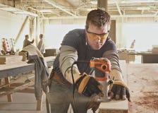Carpenter Stock Photo