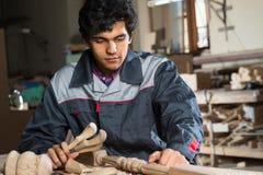 Carpenter at work Royalty Free Stock Photos