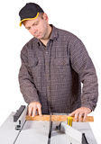 Carpenter working Royalty Free Stock Images