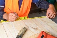 The carpenter Royalty Free Stock Photos