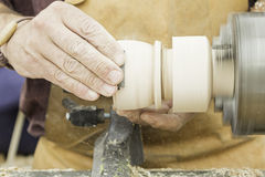 Carpenter working Royalty Free Stock Photos