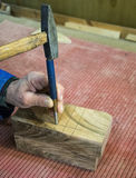 Carpenter workplace- Manuals works on wood. Carpenter workplace- Manuals works on wood stock images