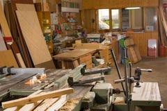 Carpenter workshop Stock Photos