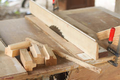 Carpenter workspace Royalty Free Stock Photo
