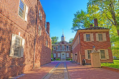 Carpenters Hall in the Old City of Philadelphia PA Stock Photo