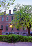 Carpenters Hall in the Old City in Philadelphia PA Royalty Free Stock Photography