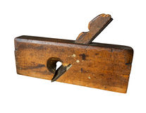 Carpenters plane. A  old wooden Carpenters tools Royalty Free Stock Image