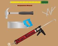 Carpenters Tools Stock Photo
