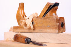 Carpenters tools Royalty Free Stock Photography