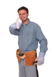 Carpentiere 3 Fotografie Stock Libere da Diritti