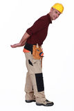 Carpentiere Fotografie Stock Libere da Diritti