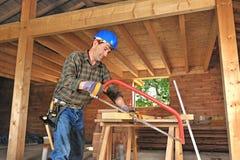 Carpentiere due fotografie stock