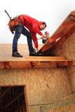 Carpentiere Framer Immagini Stock Libere da Diritti