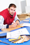 Carpentiere reale Fotografie Stock