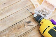 Carpentiere Tool immagini stock libere da diritti