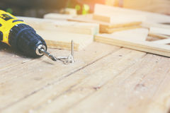 Carpentiere Tool fotografia stock