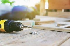 Carpentiere Tool immagine stock