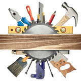 Carpentry background Royalty Free Stock Photography