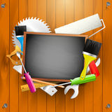Carpentry background Royalty Free Stock Images