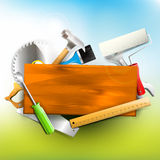 Carpentry background Stock Photos