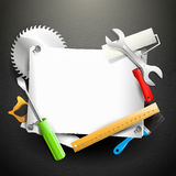Carpentry background Royalty Free Stock Photos