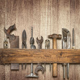 Carpentry background Stock Image