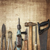 Carpentry background Stock Photos