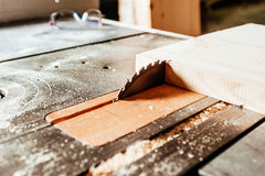 Carpentry cutting blade Royalty Free Stock Photo