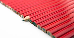Carpentry pencils Royalty Free Stock Photos