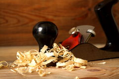 Carpentry plane Stock Photography